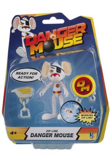 Danger Mouse 3-inch Figure avec tyrolienne Accessoire