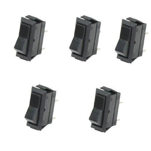 0,75 EUR//Stück 5x Wippschalter Schalter ein//aus 12V Kippschalter
