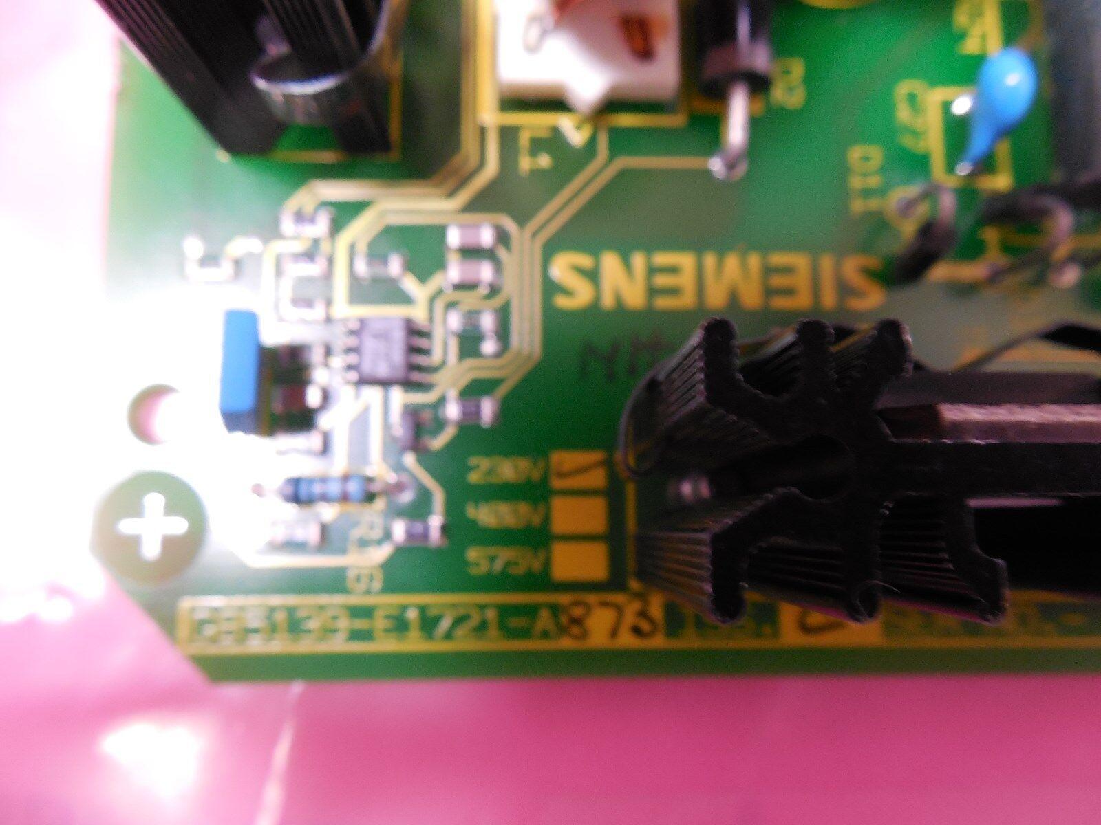 Siemens 6SC6170-0FC51 462 017.9052.51 E F G Power Supply Drive Board