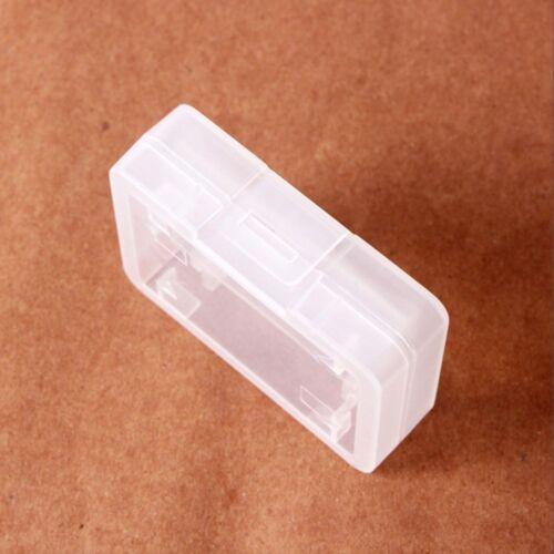 Cf Compact Caja titular de la tarjeta de plástico de tarjeta de memoria Protecter caso