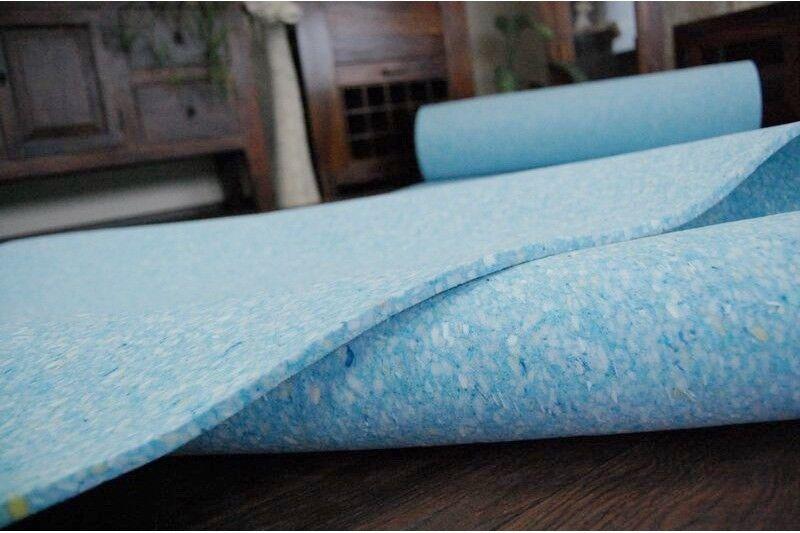 Meilleure Qualité Luxe Mousse Mousse Mousse Tapis Bleu Sous-Couche!Softly sous les Pieds   à L'aise  4685af