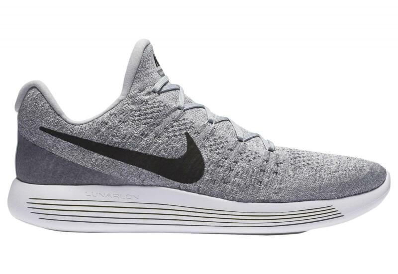 Womens Nike Lunarepic Low Flyknit 2 Wolf Grey Trainers 863780 002