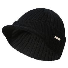 item 7 Men Women Winter Warm Stripe Visor Brim Beanie Hat Peaked Cap Knit  Ski Skull Hat -Men Women Winter Warm Stripe Visor Brim Beanie Hat Peaked Cap  Knit ... 2afc9666cf46