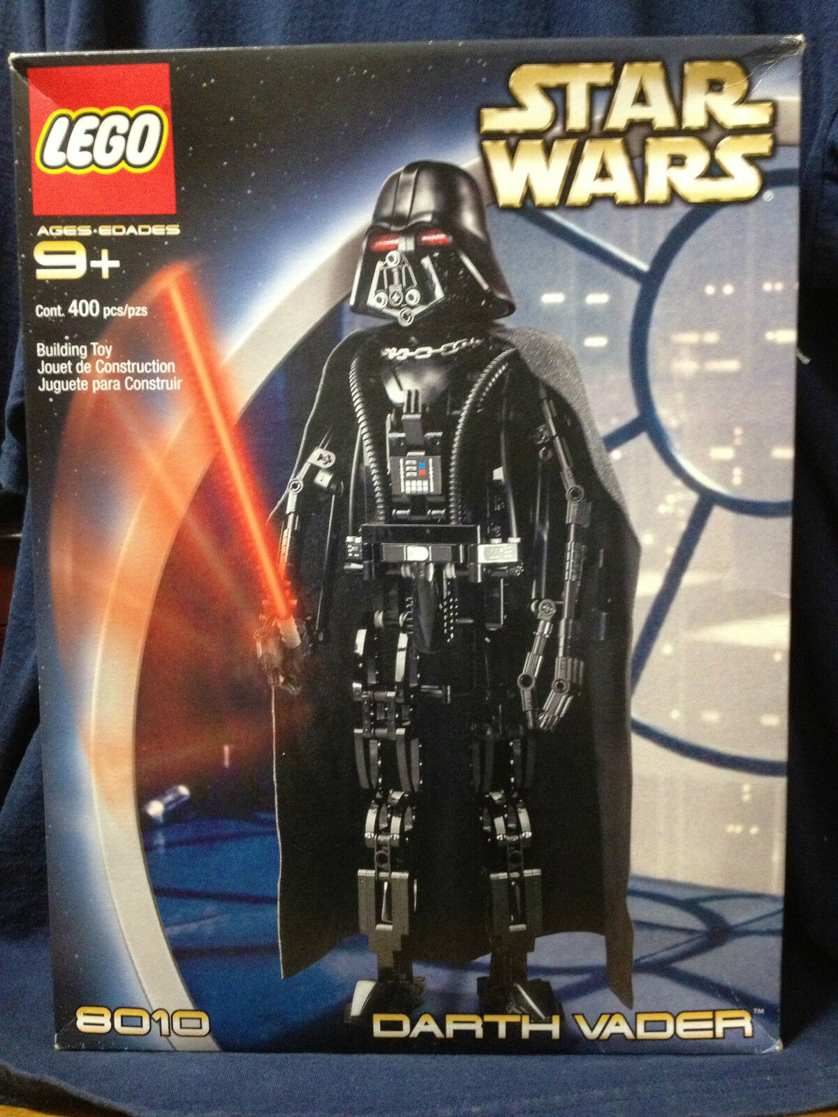 LEGO Star Wars - Rare Technic Darth Vader 8010 - Nuovo in Box.