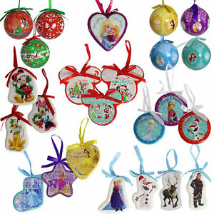 image is loading disney christmas tree decorations baubles choose design - Disney Christmas Tree