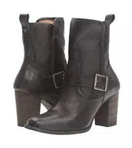 Trask-Black-Italian-Washed-Sheepskin-Boots-NWOT-Women-s-11-348
