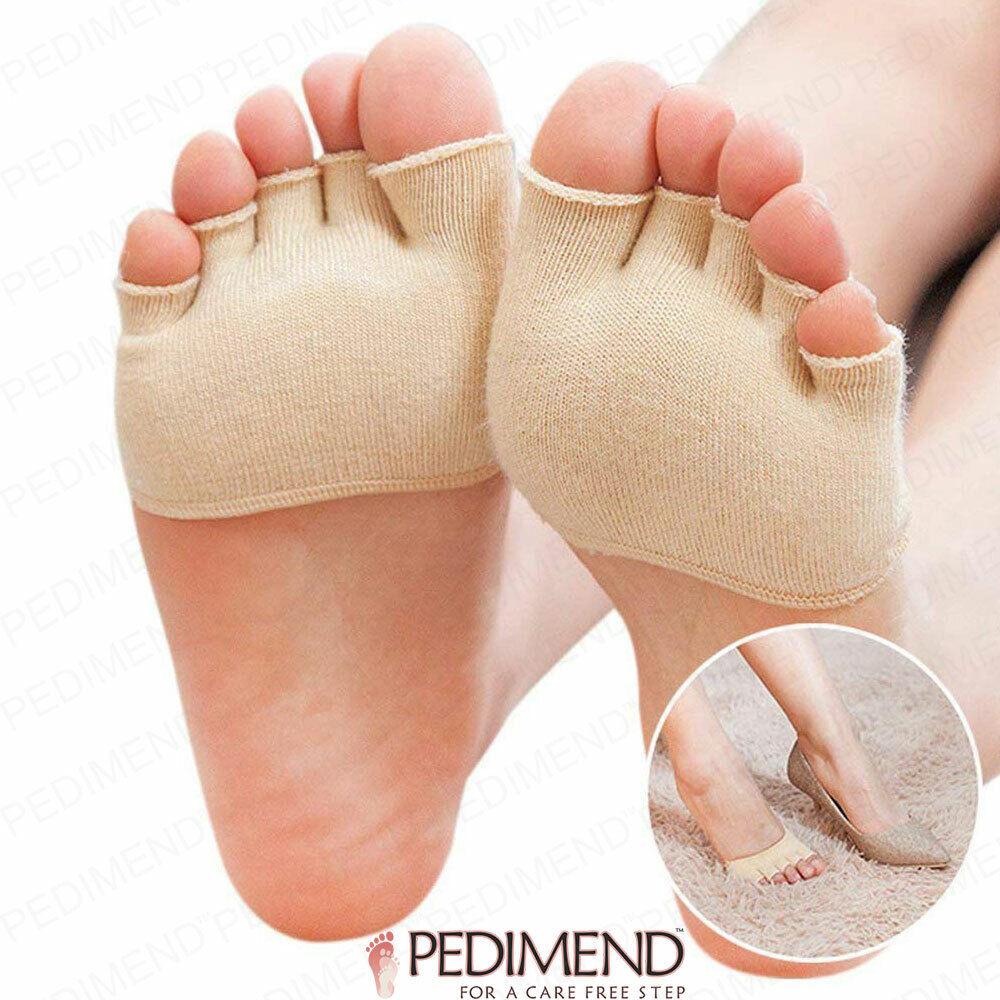 Soft Gel Socks UK Size 4-7 Sweat Moisture Corns Calluses Blisters Heel Toe Foot#