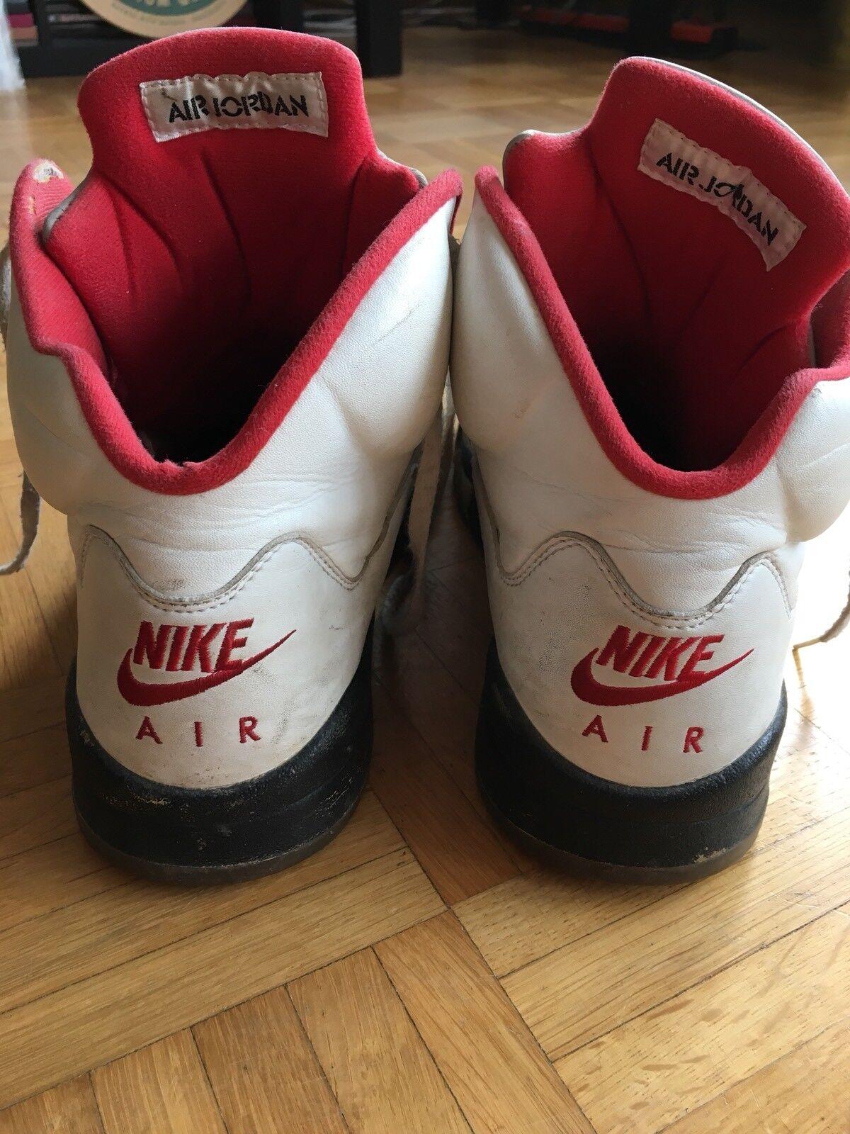 OG Nike Air Jordan 5 Fire Red Red Red Retro 2000 9f03db