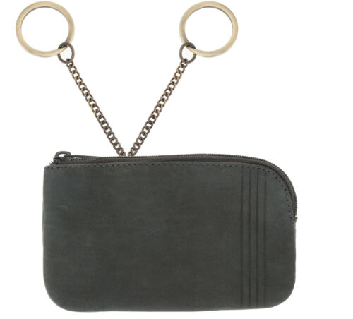 Börse HJP Vintage RFID Blocker Key Schlüßelmäppchen Schlüßeletui Etui 96 Schwarz