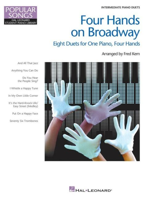 Four Hands on Broadway - Intermediate - Level 5 1 Piano, 4 Hands - Music Book