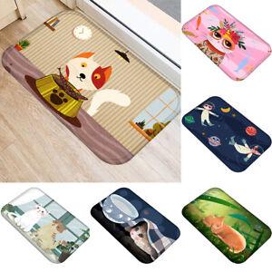 Cg-Funny-Cat-Printed-Anti-slip-Doormat-Living-Room-Bathroom-Floor-Mat-Room-Deco