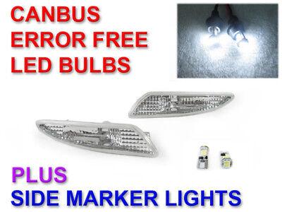 2x Mercedes SL R230 Ultra Bright White 24-LED Reverse Light Lamp Bulbs
