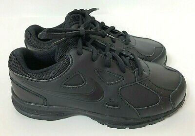 all black youth tennis shoes