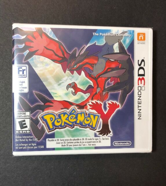 Pokemon Y (3DS) NEW