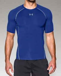 Under Armour UA Men/'s HeatGear Short Sleeve Compression Shirt FREE SHIP 1257468+
