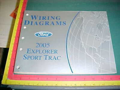 2005 FORD EXPLORER SPORT TRAC WIRING DIAGRAMS MANUAL ...