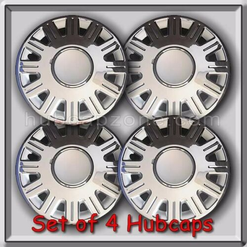"""2003-2008 Ford Crown Vic Police Wheel Covers 4 16/"""" Ford Crown Victoria Hubcaps"""