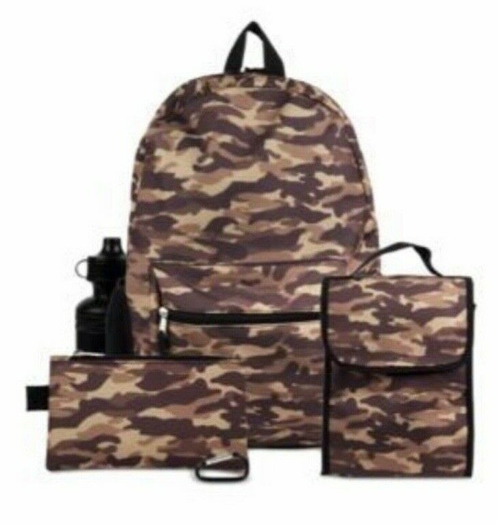 Pencil Case and Utility Case Minecraft Kids Minecraft Backpack 5 Piece School Set Including Lunchbag Water Bottle