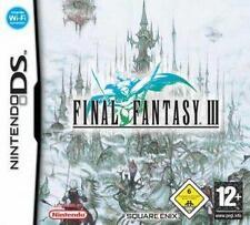 NINTENDO DS 3DS FINAL FANTASY 3 III * DEUTSCH ohne Folie Neuwertig