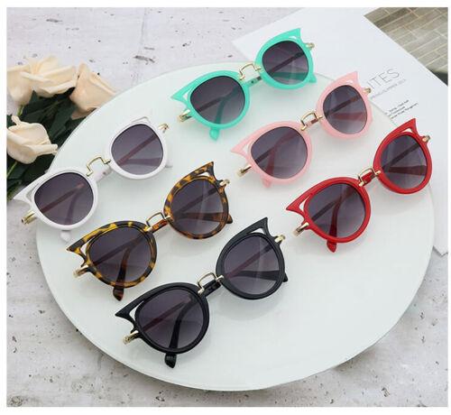 Kids Sunglasses Cat Eye Children Glasses UV400 Lens  Cute Eyewear Goggles