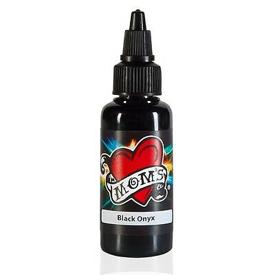 MOMS MILLENNIUM TATTOO INK BLACK ONYX  Bright Vibrant Color (2 Sizes Avail)