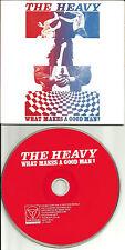 THE HEAVY What Makes a Good man 4TRX EDITS & INSTRUMENTAL UK PROMO DJ CD single