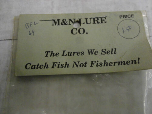 """M /& N Lure 3 1//2/"""" Curly Tail Grub Blue Flake//Gold Flake 10 Cnt New//Old Stock"""