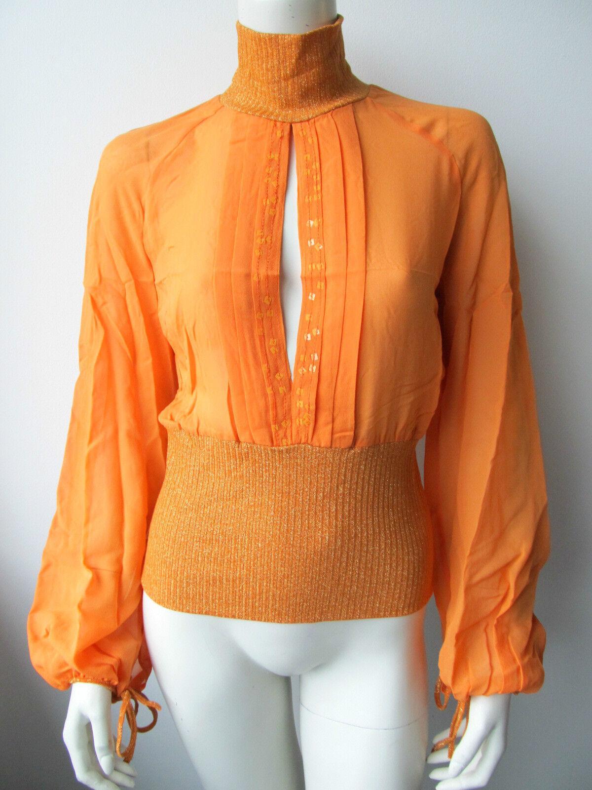 Anna Rita N Damen Blause Camicia Top Shirt Neu 34 38  XS S M