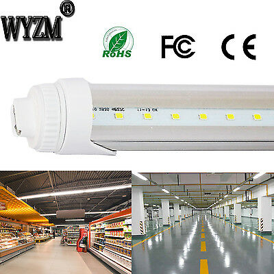 40w 8 Foot F96T12 LED Tube Light Bulb T8 Fluorescent Replacement 6000K 85V-277V