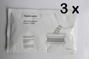 Tupperware-3x-Eco-Granulat-fuer-die-Filterkanne
