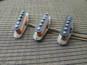 Hand CRAFTED pickups fit Fender stratocaster. VINTAGE Custom ALNICO5 pickups