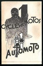 Catalogue AUTOMOTO 1935 Motos Vélomoteurs Cycles Vélos - Brochure Dépliant Moto