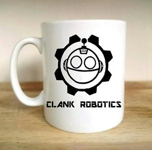 CLANK ROBOTICS GAMING GAMER GIFT PRESENT MUG CUP FATHERS DAY RETRO