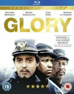 Glory-Blu-ray-Brand-New-Sealed-Denzel-Washington-Morgan-Freeman