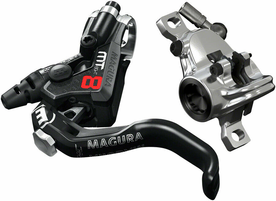 Magura MT8 Pro Disc  Brake and 1-Finger Lever, Front or Rear with 2000mm Hose,...  authentic quality