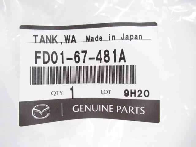 New OEM Mazda RX-7 1992-2002 FD third gen windshield washer tank FD01-67-481A