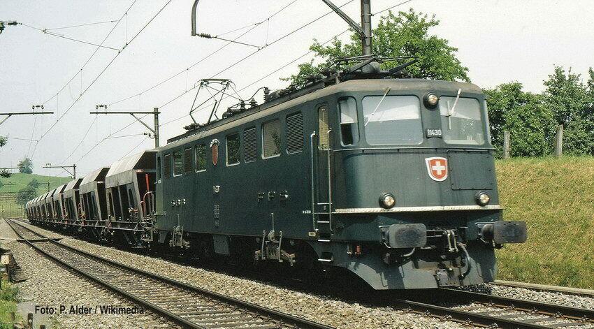 Fleischmann N 737214 AE 6 6 6 6 City Basel SBB EP Iv-Vi Nip 1408ac