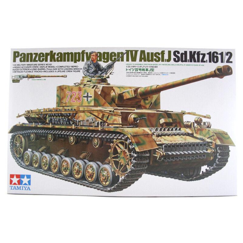Tamiya Panzerkampfwagen IV Ausf.J (Sd.Kfz.161 2) Tank Model Set Scale 1 35 35181