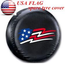 "USA 14"" USA Flag Spare Tire Cover Wheel Tyre Covers for all car diameter 60~69cm"