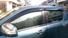 4 Doors Windows Vent Sun Visor Weather Guards MAZDA BT-50 PRO PICKUP 2012-2016