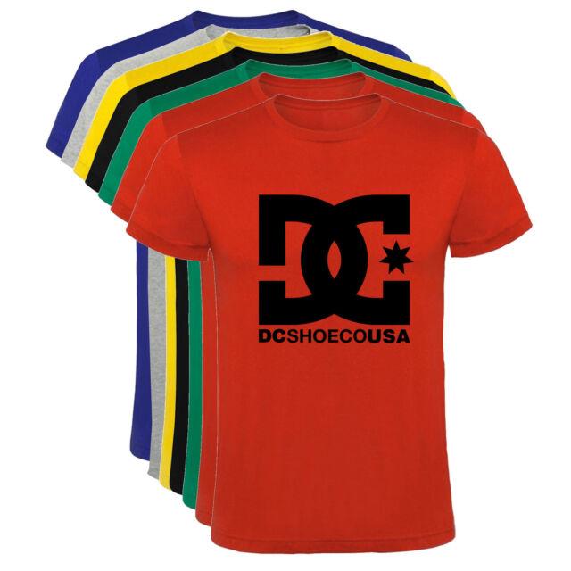 Camiseta DC shoes skate deportes snow tipo D Hombre varias tallas y colores a071
