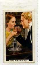 (Js419-100) Gallaher,Film Episodes,The Woman In Red,1936 #41