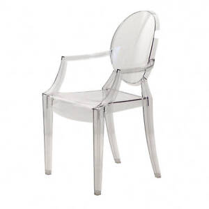 Details about Kartell Louis Ghost 4852 B4 Philippe Starck Trasparente Sedia  Classici