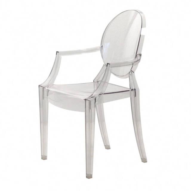Kartell 4852B4 Stuhl Louis Ghost Glas klar günstig kaufen | eBay