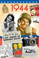 73rd Birthday Gifts - 1944 Time of  Life DVD and 1944 Retro Card - CD Card Com.