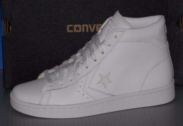 CONVERSE PL 76 MID in colors WHITE