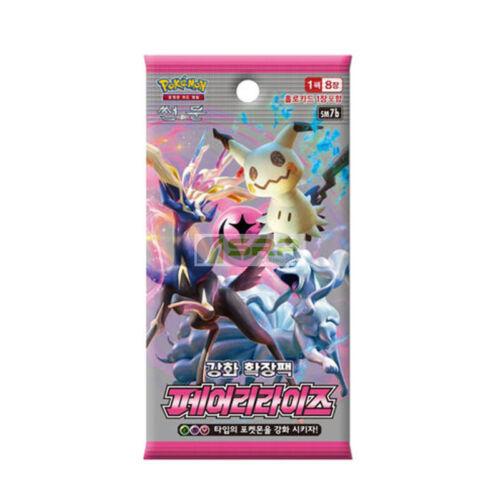 "Pokemon Cards Sun /& Moon /""Fairy Rise/"" Booster Pack SM7b1EA Korean Ver"