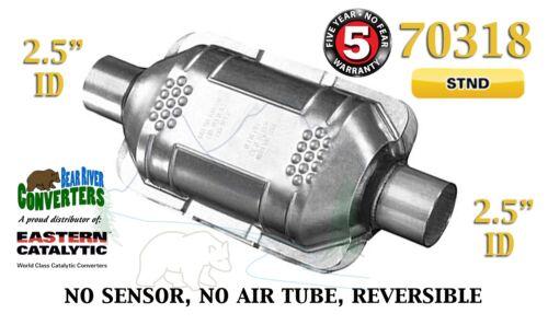 "70318 Eastern Universal Catalytic Converter Standard 2.5"" 2 1//2"" Pipe 10"" Body"