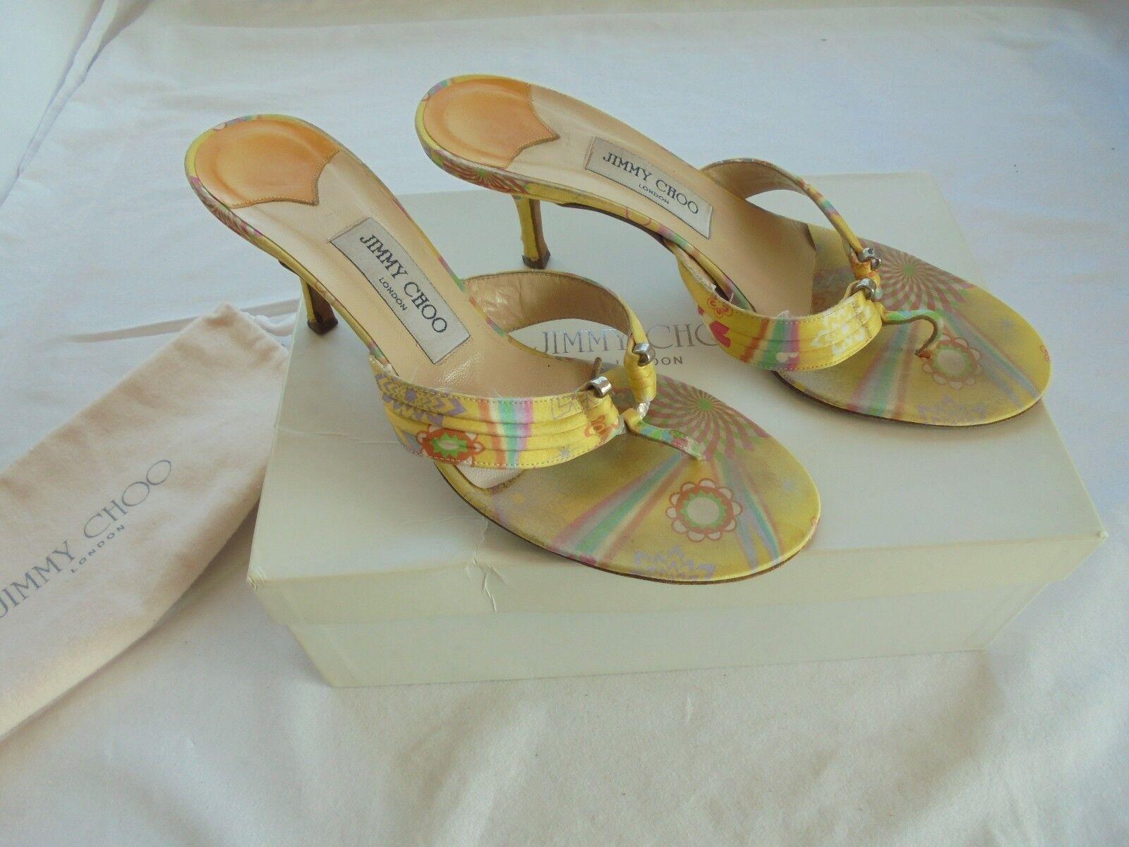 Jimmy Choo Gr. Sandaletten  TOP Schuhe Pumps High Heels Gr. Choo 40 40,5 41 52b09e