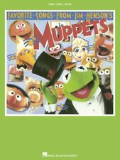 Muppet Show Theme Sheet Music Piano Vocal NEW  000354522